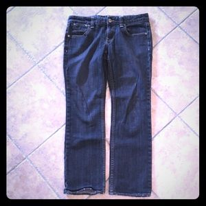Banana Republic black wash denim jeans